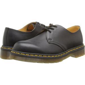 ドクターマーチン Dr. Martens レディース ローファー・オックスフォード シューズ・靴 1461 3-Eye Gibson Black Nappa Leather|fermart2-store