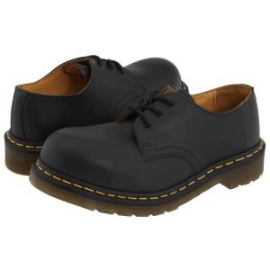 ドクターマーチン Dr. Martens レディース ローファー・オックスフォード シューズ・靴 1925 Black Fine Haircell|fermart2-store