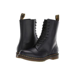 ドクターマーチン Dr. Martens レディース ブーツ シューズ・靴 1490 Black Smooth|fermart2-store