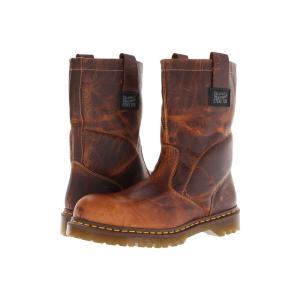 ドクターマーチン Dr. Martens Work メンズ ブーツ シューズ・靴 2295 Rigger Tan Greenland|fermart2-store