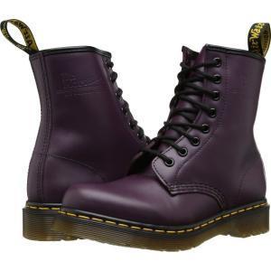ドクターマーチン Dr. Martens レディース ブーツ シューズ・靴 1460 W Purple Smooth Leather|fermart2-store