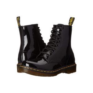 ドクターマーチン Dr. Martens レディース ブーツ シューズ・靴 1460 W Black Patent Lamper Leather|fermart2-store