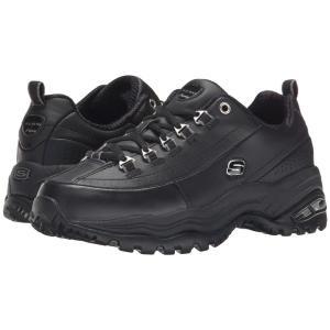 スケッチャーズ SKECHERS レディース シューズ・靴 スニーカー Premiums Black/Black Leather|fermart2-store
