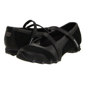 スケッチャーズ SKECHERS レディース シューズ・靴 フラット Bikers - Step-Up Black|fermart2-store