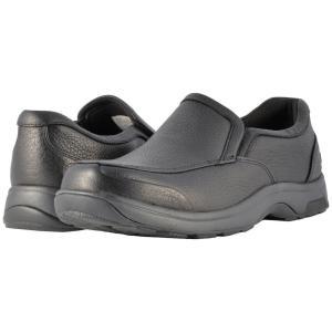 ダナム Dunham メンズ シューズ・靴 ローファー Battery Park Slip-On Black Polished Leather fermart2-store