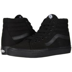 ヴァンズ メンズ スニーカー シューズ・靴 SK8-Hi' Core Classics Black/Black/Black|fermart2-store