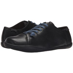 カンペール メンズ スニーカー シューズ・靴 Peu Cami - Lo-17665 Black Leather|fermart2-store