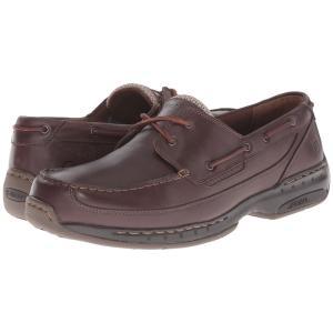 ダナム メンズ デッキシューズ シューズ・靴 Shoreline Brown Leather fermart2-store