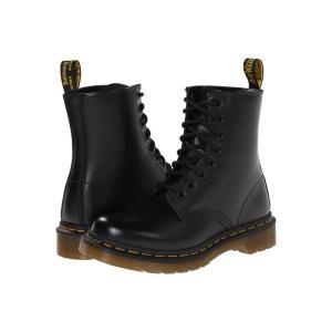ドクターマーチン Dr. Martens レディース ブーツ シューズ・靴 1460 W Black Smooth|fermart2-store