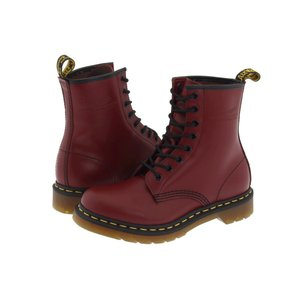 ドクターマーチン Dr. Martens レディース ブーツ シューズ・靴 1460 W Cherry Red|fermart2-store