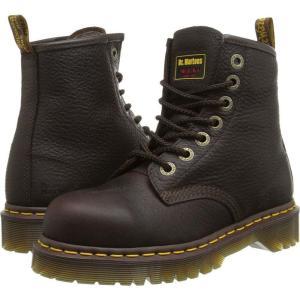 ドクターマーチン Dr. Martens Work レディース ブーツ シューズ・靴 7B10 ST 7 Eye Boot Bark|fermart2-store