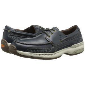 ダナム Dunham メンズ シューズ・靴 ボートシューズ Captain Navy セール fermart2-store