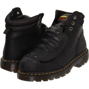 ドクターマーチン Dr. Martens Work メンズ ブーツ シューズ・靴 Ironbridge MG ST Black Industrial Trailblazer|fermart2-store