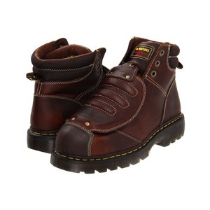 ドクターマーチン Dr. Martens Work メンズ ブーツ シューズ・靴 Ironbridge MG ST Teak Industrial Grizzly|fermart2-store