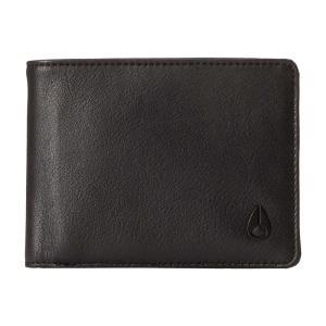 ニクソン レディース 財布 Pass Bi-Fold ID Wallet All Black|fermart2-store