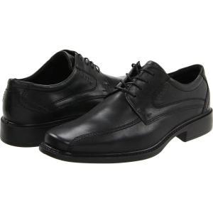 エコー メンズ 革靴・ビジネスシューズ シューズ・靴 New Jersey Tie Black Santiago Full-Grain Leather|fermart2-store