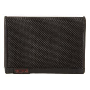 トゥミ Tumi メンズ カードケース・名刺入れ Alpha - Gusseted Card Case With ID Black|fermart2-store