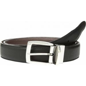 ブライトン メンズ ベルト Jefferson Reversible Belt Black/Espresso|fermart2-store