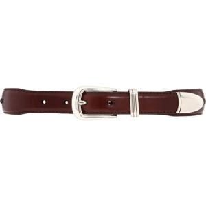 ブライトン メンズ ベルト Roberts Golf Belt Brown/Black|fermart2-store