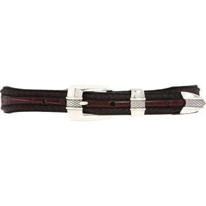 ブライトン Brighton メンズ ベルト Porto Fino Taper Belt Black/Chocolate|fermart2-store