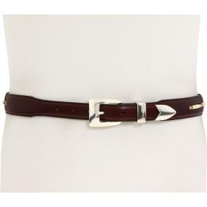 ブライトン Brighton メンズ ベルト 1-1/4' - 1' Toronto Taper Belt Brown|fermart2-store