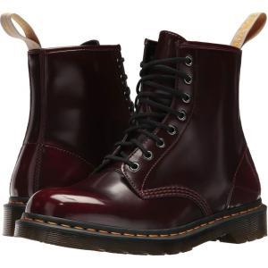 ドクターマーチン Dr. Martens メンズ ブーツ シューズ・靴 1460 Vegan 8-Eye Boot Cherry Red Cambridge Brush|fermart2-store