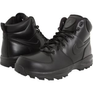 ナイキ メンズ シューズ・靴 ハイキング・登山 Manoa Leather Black/Black/Black|fermart2-store