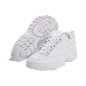 フィラ Fila メンズ シューズ・靴 Strada Disruptor White/White/White|fermart2-store