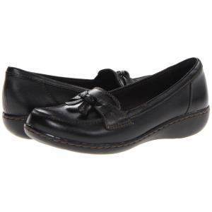 クラークス レディース ローファー・オックスフォード シューズ・靴 Ashland Bubble Black|fermart2-store