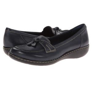 クラークス レディース ローファー・オックスフォード シューズ・靴 Ashland Bubble Navy|fermart2-store