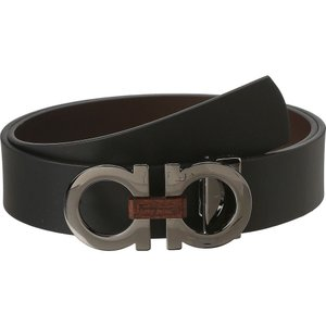 サルヴァトーレ フェラガモ メンズ ベルト Adjustable/Reversible Belt Nero/Auburn fermart2-store