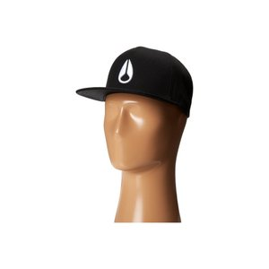 ニクソン Nixon レディース キャップ 帽子 Simon Snapback Hat Black/White|fermart2-store