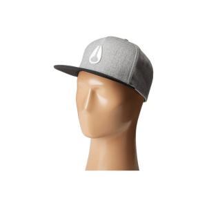 ニクソン Nixon レディース キャップ 帽子 Simon Snapback Hat Heather Gray/Black/White|fermart2-store
