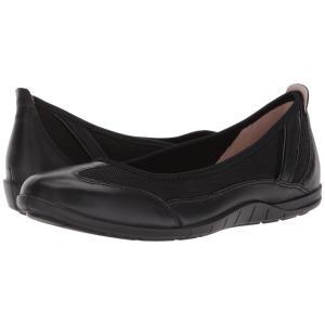 エコー レディース スリッポン・フラット シューズ・靴 Bluma Summer Ballerina Black/Black|fermart2-store