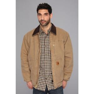 カーハート Carhartt メンズ ジャケット アウター Sandstone Ridge Coat (3XL/4XL) Frontier Brown|fermart2-store