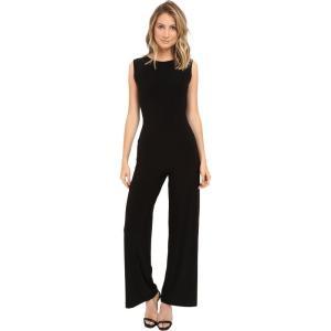 ノーマカマリ レディース オールインワン ワンピース・ドレス Sleeveless Jumpsuit Black fermart2-store