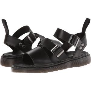 ドクターマーチン Dr. Martens メンズ サンダル シューズ・靴 Gryphon Strap Sandal Black Brando fermart2-store