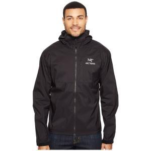 アークテリクス メンズ ジャケット アウター Squamish Hoody Black|fermart2-store