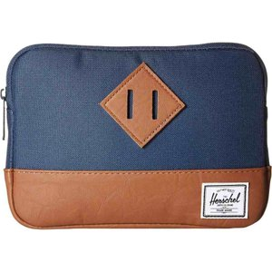 ハーシェル サプライ メンズ iPadケース Heritage Sleeve For iPad Mini Navy|fermart2-store
