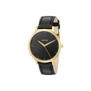 ニクソン Nixon レディース 腕時計 Kensington Leather Gold/Black|fermart2-store