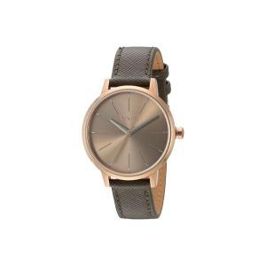 ニクソン Nixon レディース 腕時計 Kensington Leather Rose Gold/Taupe|fermart2-store