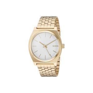 ニクソン Nixon レディース 腕時計 Time Teller Gold/White|fermart2-store
