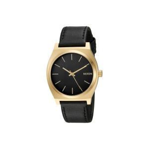 ニクソン レディース 腕時計 Time Teller Gold/Black/Black|fermart2-store