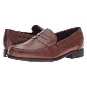 ロックポート メンズ ローファー シューズ・靴 Classic Loafer Lite Penny Dark Brown|fermart2-store