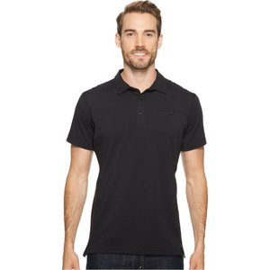 アークテリクス メンズ ポロシャツ トップス Captive Polo S/S Black|fermart2-store