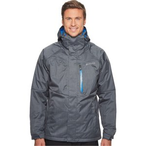 コロンビア メンズ アウター スキー・スノーボード Alpine Action Jacket Graphite/Super Blue|fermart2-store