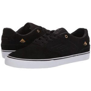 エメリカ Emerica メンズ スニーカー シューズ・靴 The Reynolds Low Vulc Black/Gold/White|fermart2-store