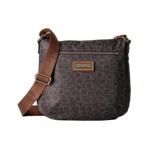 カルバンクライン Calvin Klein レディース ショルダーバッグ バッグ Key Item Nylon Messenger H3JFE1CW Brown/Khaki/Luggage fermart2-store