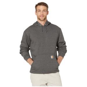 カーハート Carhartt メンズ パーカー トップス MW Hooded Sweatshirt Carbon Heather|fermart2-store