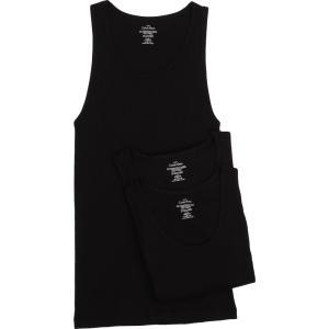 カルバンクライン メンズ タンクトップ トップス Cotton Classic Tank 3-Pack NM9070 Black|fermart2-store